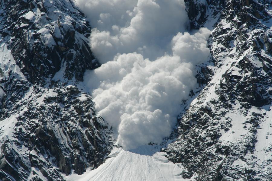 МЧС объявило лавинную опасность по урочищу Чимган