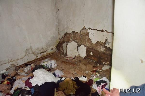 Полметра кипятка: в центре Ташкента горячей водой затопило десяток домов (фото/видео)