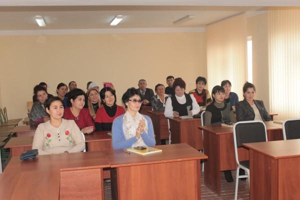 Международный мастер-класс прошел в Намангане