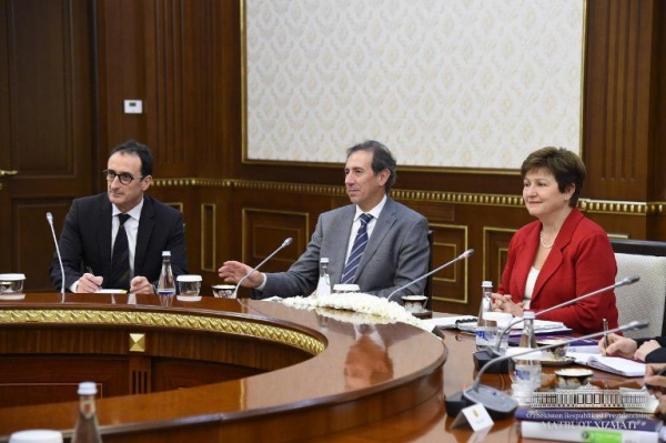 Ўзбекистон Президенти Жаҳон банки делегациясини қабул қилди