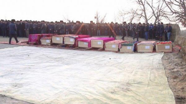 Наманганцы похоронили жертв катастрофы