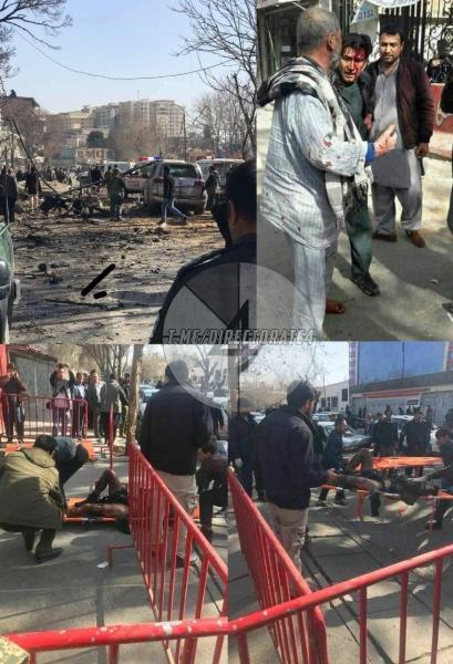 В центре Кабула вновь прогремел мощный взрыв