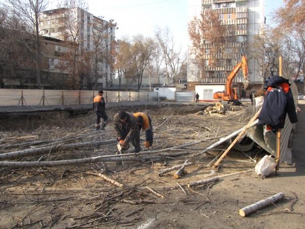 Секретный объект в центре Ташкента