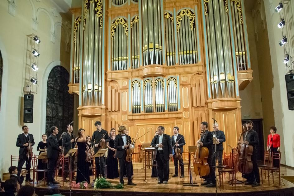 "Концерт юного скрипача с ""Солистами Узбекистана"""
