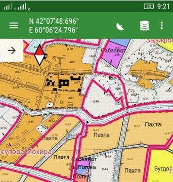 Создано мобильное приложение с картой фермерских земель и именами их владельцев
