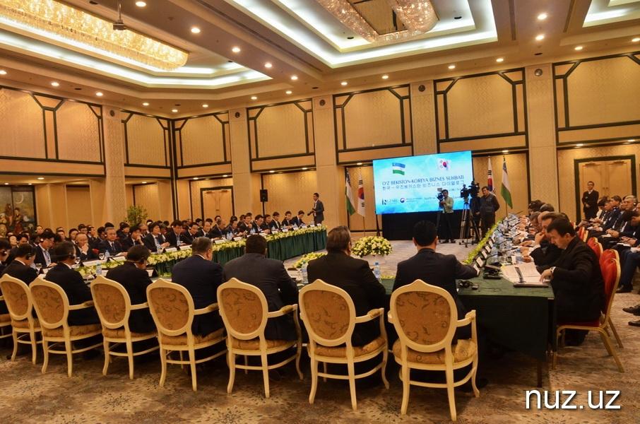 Азим Ахмедхаджаев призывает корейских бизнесменов инвестировать в экономику Узбекистана