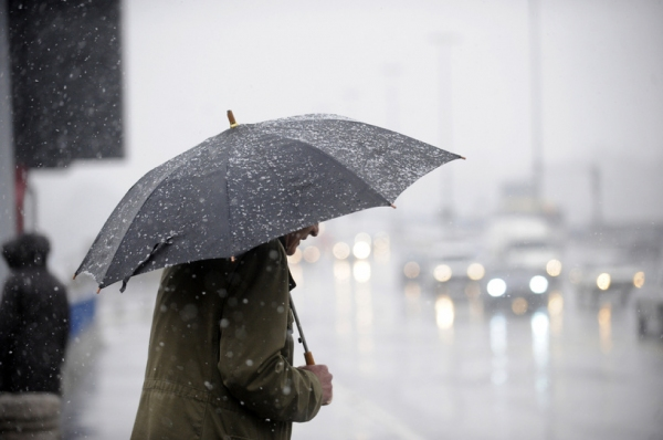В Ташкенте ожидаются ливневые дожди с переходом в снег