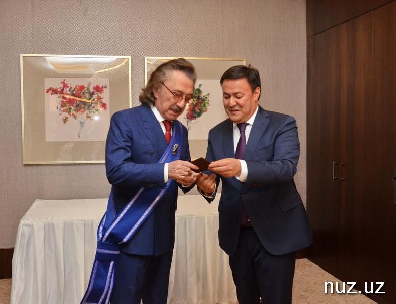 Фаррух Закиров получил очередную награду