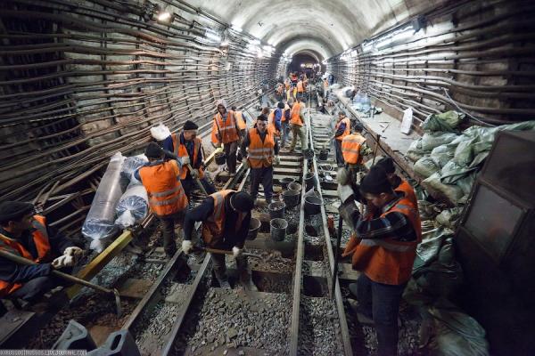 Представители метрополитена рассказали, как идет строительство новых линий