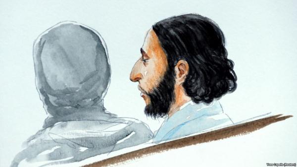 """""""Парижский террорист"""" отказался присутствовать в суде в Брюсселе"""