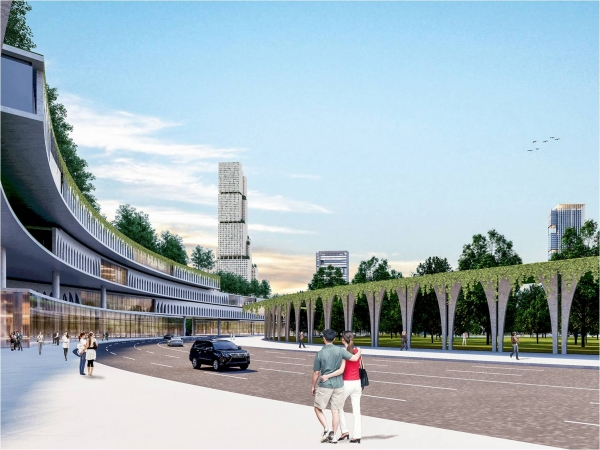 Стало известно, как будет выглядеть Ташкент-Сити (фото)