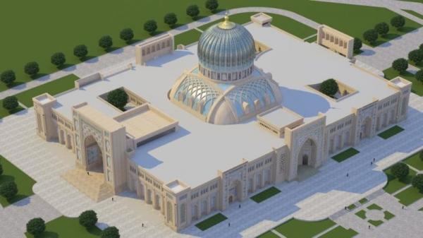 Опубликован проект Центра исламской цивилизации (фото)