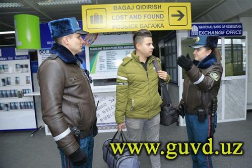 Спецпатруль ташкентской милиции: кто они?
