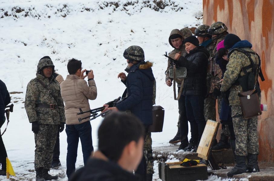 Полигон Ташкентского военного округа: автоматы, пулеметы, гранаты