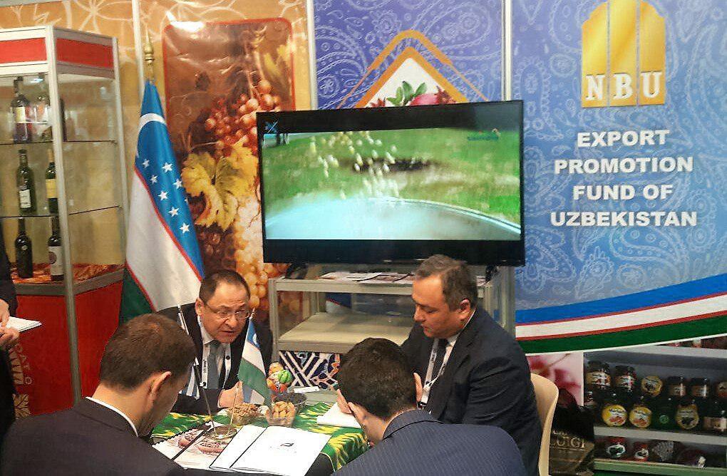Успешный дебют Узбекистана на выставке продуктов питания и напитков FOOD EXPO GREECE 2018