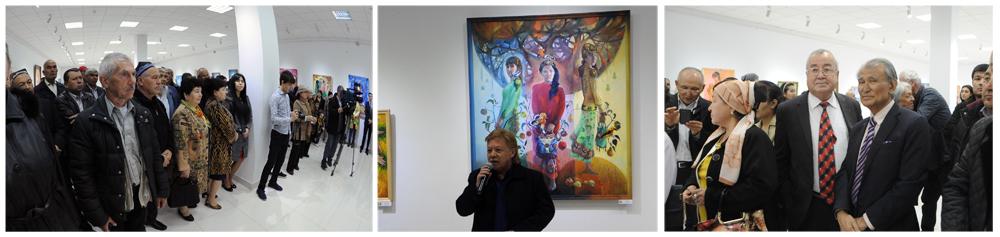 «Благословение сердца»: в Ташкенте открылась выставка Бахтиера Юсупова