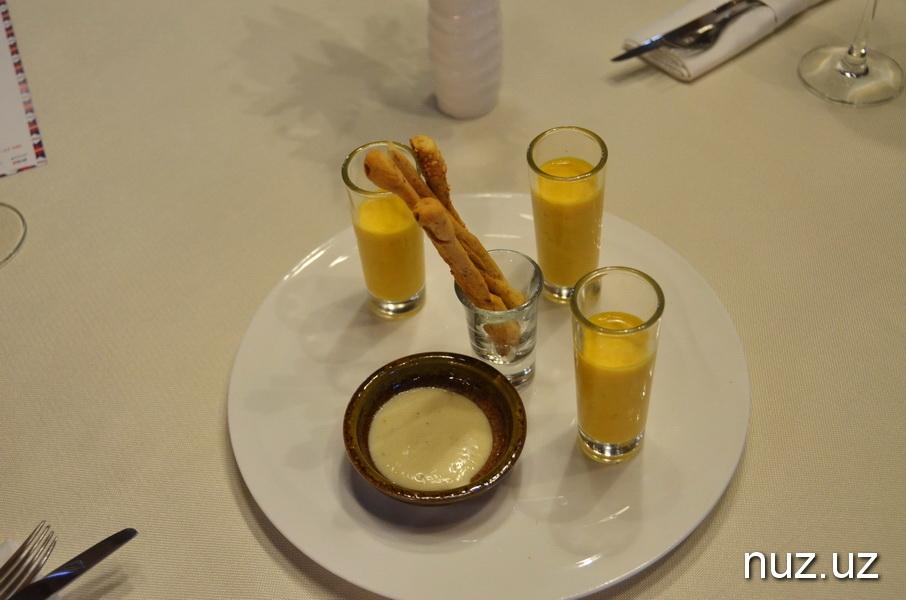 «Вкус Франции» в Ташкенте: яйца из Чимгана и раки из Бухары