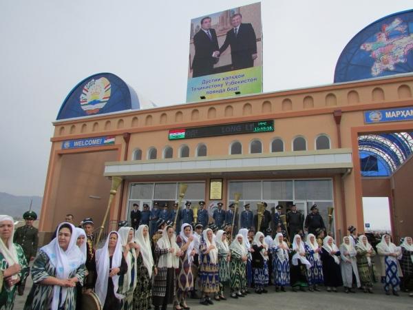 В Самаркандской области в торжественной обстановке открылся пункт пропуска «Джартепа»