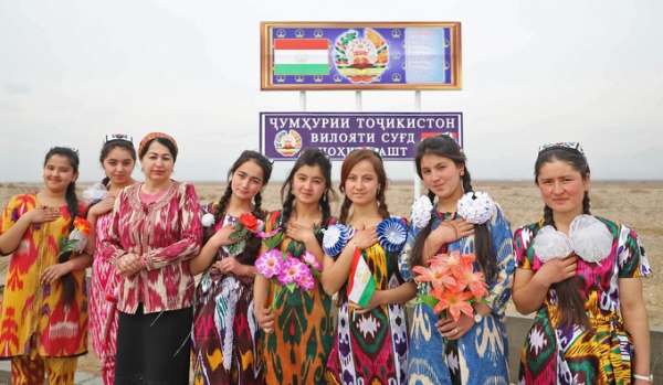 В Папском районе открыт КПП на границе с Таджикистаном