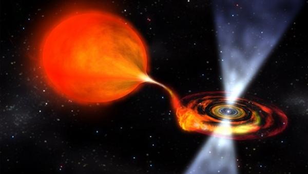 Астрономлар биринчи марта вампир-юлдузнинг ўз қўшнисидан материя ўмарганини кўрди