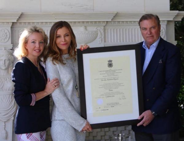 Лола Каримова-Тилляева награждена орденом