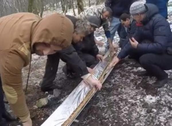 Россияда 6 метрли лўла кабоб пиширилди