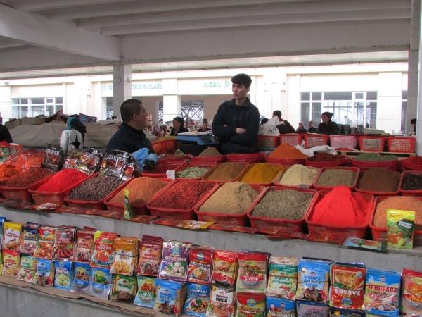 Гипермаркет или всемирно известный  Сиабский рынок в Самарканде?