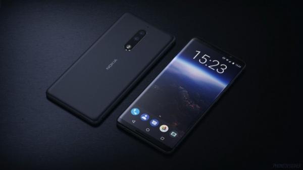 Nokia 9 экран тепасидаги «соябон» ва жуда ингичка ромларга эга бўлади