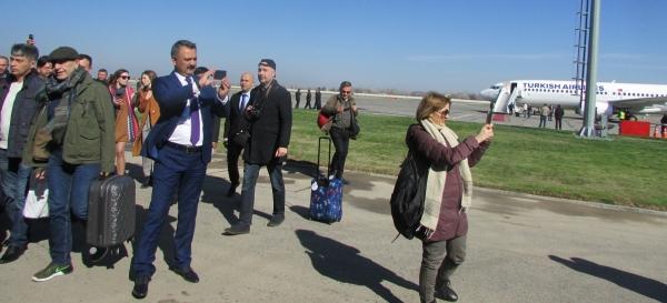 «Турецкие авиалинии» совершили первый рейс из Стамбула в Самарканд