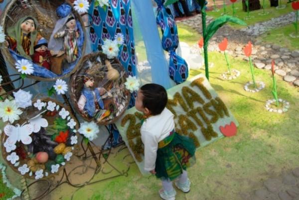 Наманган встретил Навруз рекордным сумаляком (фото)