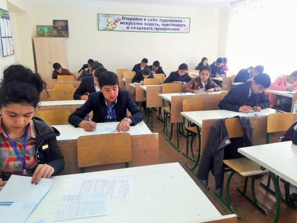 Ученики 9-10 классов участвуют в Олимпиаде по общеобразовательным предметам