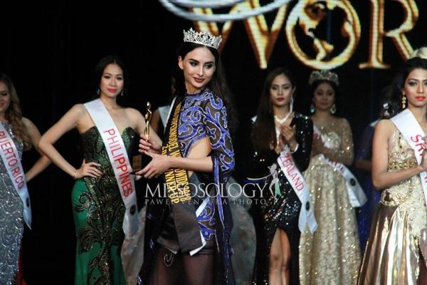 Узбекистанская красавица стала вице-мисс конкурса Miss Supermodel Worldwide 2018