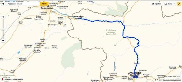 Путешествие из Самарканда в Душанбе через Анзобский перевал