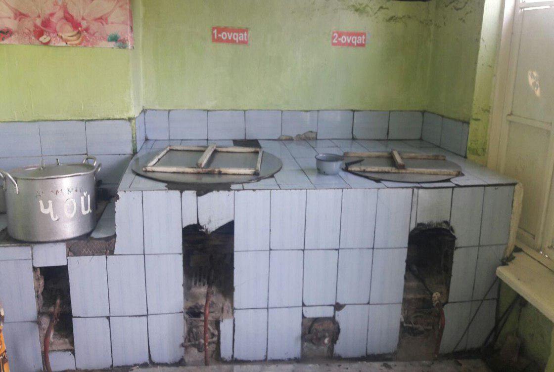 В Андижанской области за халатность уволены заведующая, завскладом и два повара детского сада