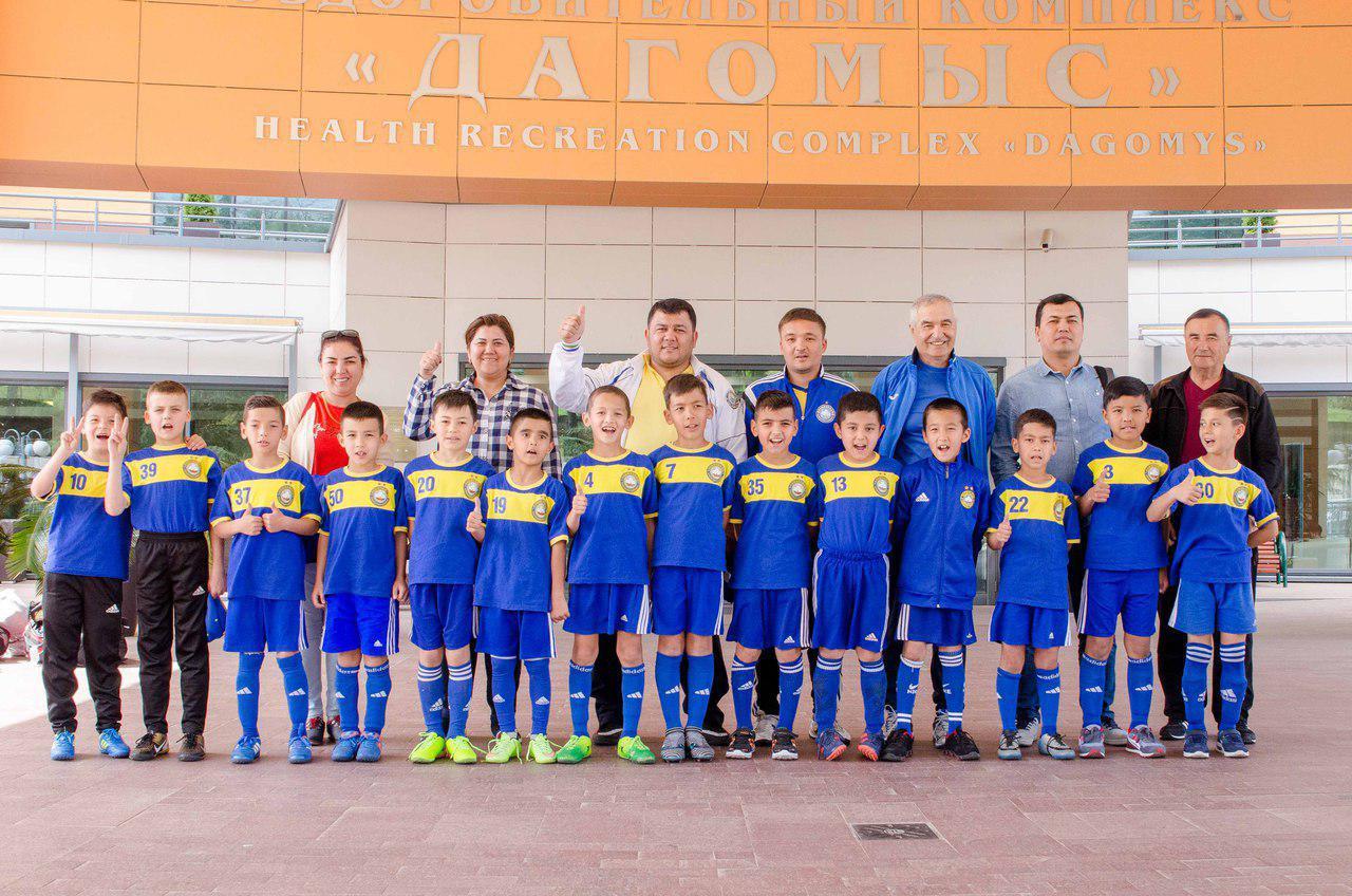 Юношеская сборная команда «Пахтакор» U-9 заняла второе место на международном турнире в Сочи
