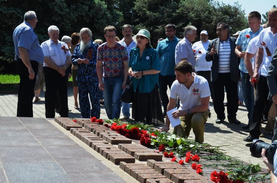 Ташкентцы встретили международную медиаэкспедицию «Победа - одна на всех»