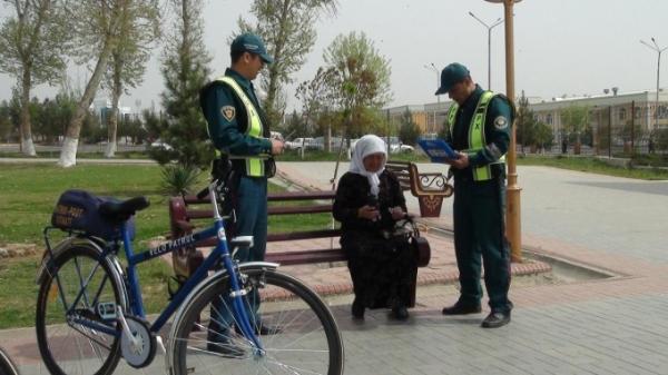В Намангане начал работу велопатруль (видео)