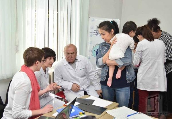 В августе дети из Узбекистана со сложными заболеваниями будут направлены на лечение в Германию