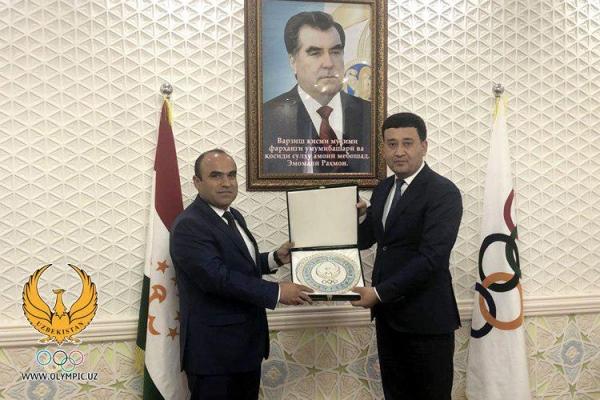 Узбекистан будет готовить таджикских спортсменов к Азиатским и Олимпийским играм