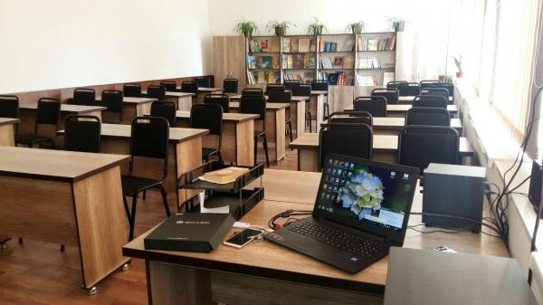 В Бухаре открыли «умный» класс