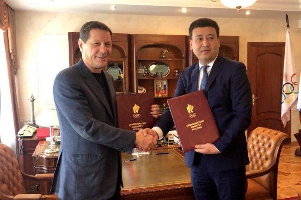 Узбекистан будет готовиться к Олимпиаде вместе с Россией: президенты НОК подписали меморандум о сотрудничестве