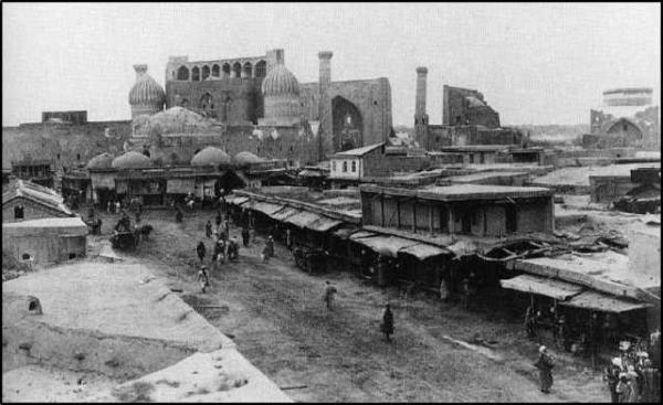 Самарканд, покоренный арабами…