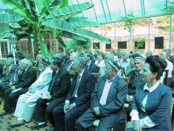 В Самарканде торжественно отметили 140-летие со дня рождения  Садриддина Айни