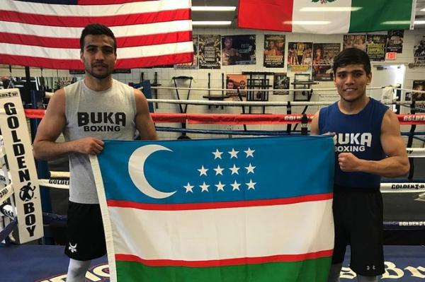 Шахрам Гиясов и Муроджон Ахмадалиев во второй раз победили соперников на профессиональном ринге (видео)