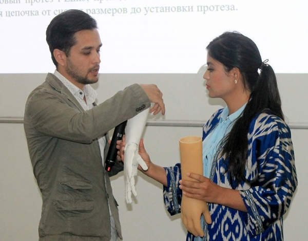 В Узбекистане откроется производство роботизированных бионических протезов