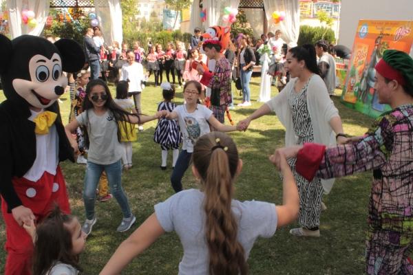В Намангане прошел праздник для детей с ограниченными воможностями