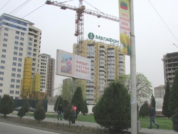 Душанбе – город новостроек, добротных дорог и тюльпанов