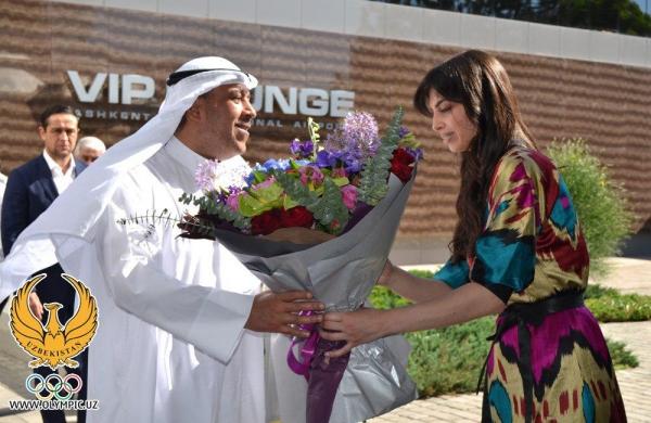 Шейх Ахмад Фахад Аль-Сабах прибыл в Ташкент для переговоров