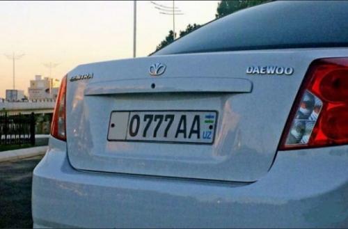 За три месяца узбекистанцы потратили на «красивые» автономера 12 миллиардов сумов