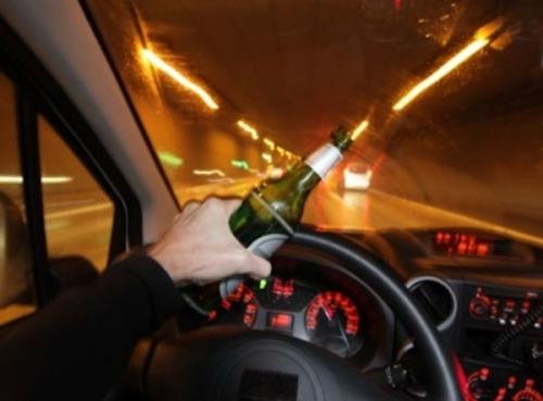 За одну ночь в столице задержали шестерых нетрезвых водителей, мчащихся на огромной скорости